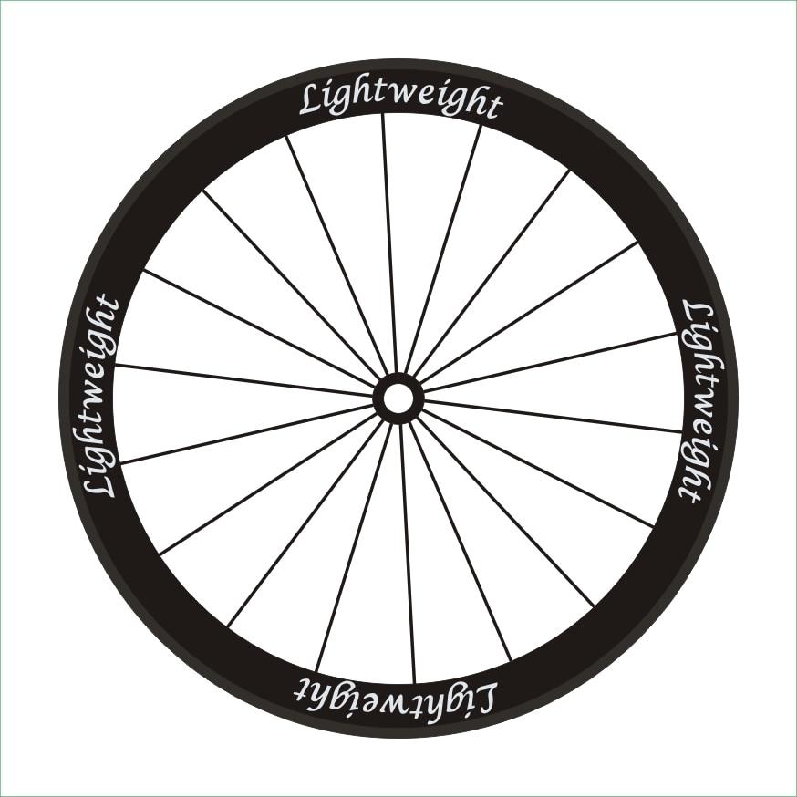 16pics/2Wheels/set Road Bike 700c  Wheel Stickers Bicycle Stickers Bike Decals Wheel Rim Decorative Stickers