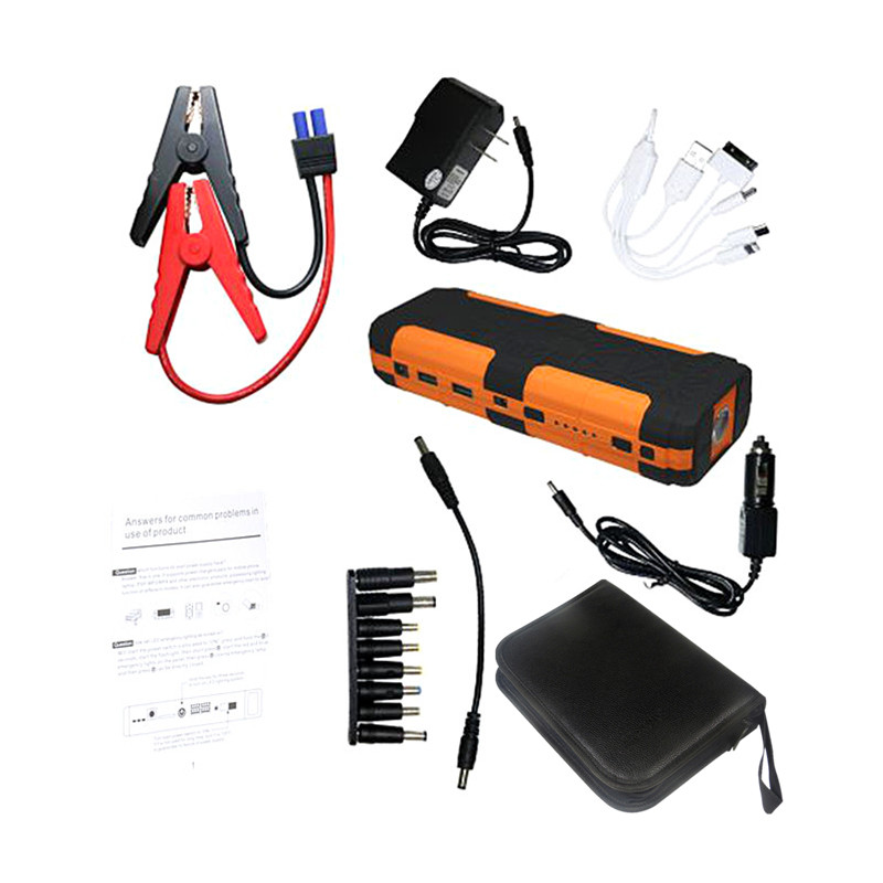 2018 New 20000mAh Car Jump Starter Portable Starter 12V Power Bank Charger for Car Battery Auto Booster Starting Device Diesel mini portable 68000mah car battery charger starting device car jump starter booster power bank for a 12v auto starting device