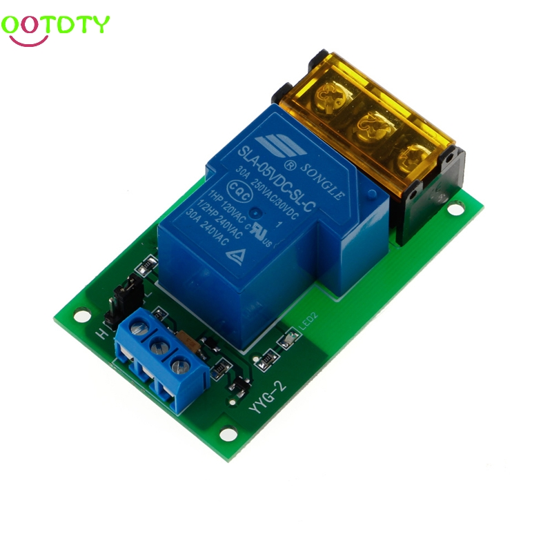 цена на 1 Channel 5V 30A Relay Board Module Optocoupler Isolation High/Low Trigger New 828 Promotion
