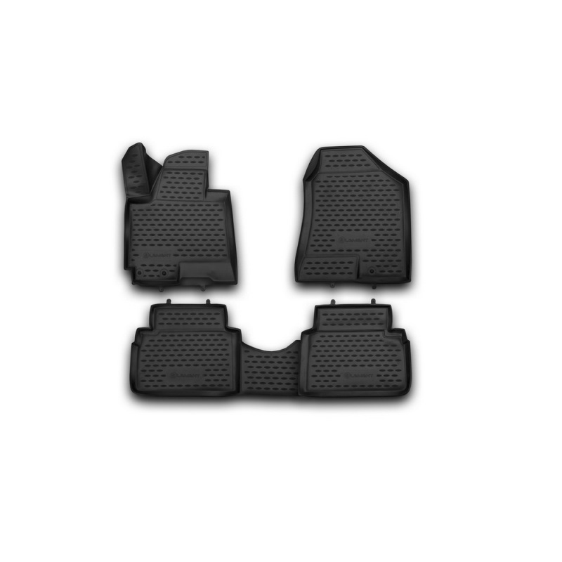 Mats 3D salon for HYUNDAI ix35 2010-> 4 PCs (polyurethane) car mats 3d salon for hyundai elantra 2007 2010 4 pcs polyurethane