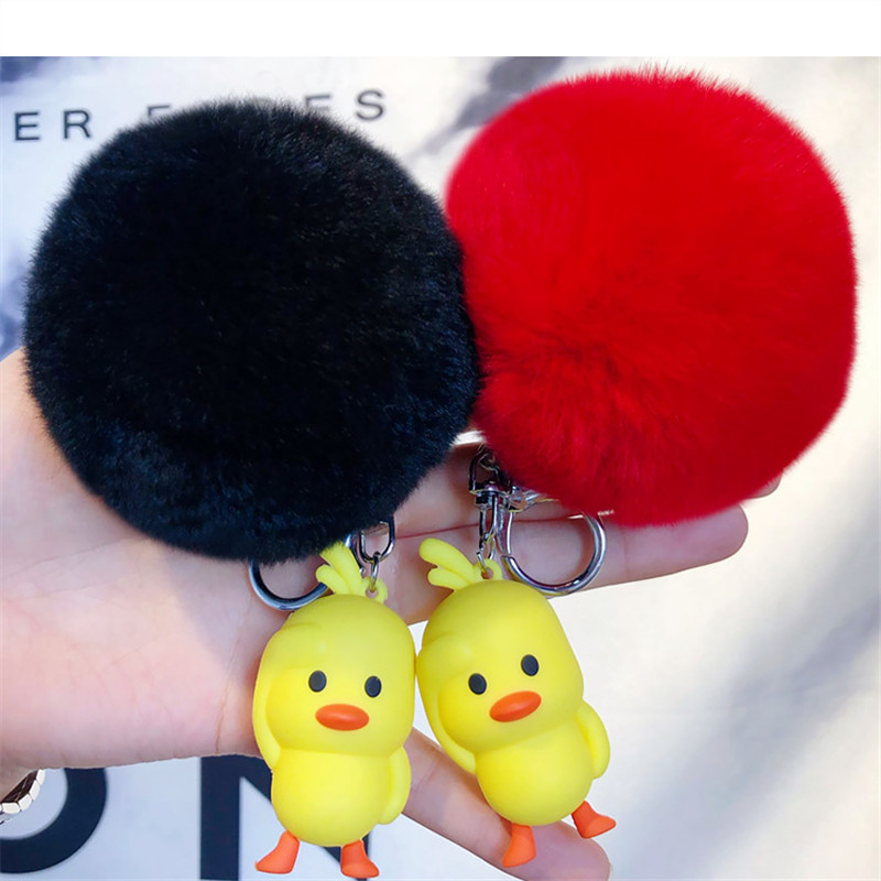 Dolls & Stuffed Toys Hot Sale 1pcs 6cm New Arrival Stuffed Dolls Rubber Duck Hongkong Big Yellow Duck Plush Toys Gifts For Kids Toys With The Most Up-To-Date Equipment And Techniques