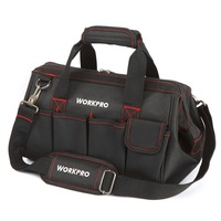 WORKPRO Waterproof Tool Bag Travel Bags Men Crossbody Bag Tool Bags Large Capacity Free Shipping 4
