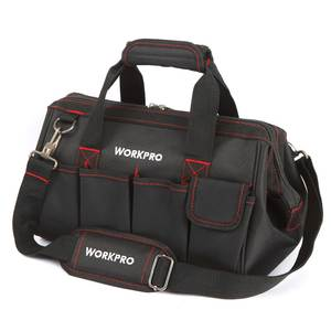 WORKPRO (12 14 16 18 inch) Travel Bags Large Capacity Men Crossbody Bag Tool Bags