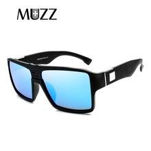 046de939e54 MUZZ New High-quality Spied Sunglasses Men s Polarized Color lenses  Sunglasses Square Spied Men Rectangle