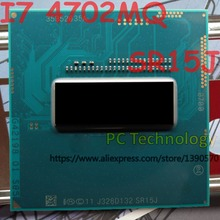 기존 인텔 코어 i7 4702mq sr15j cpu I7 4702MQ oem 프로세서 2.2 ghz 3.2 ghz l3 = 6 m 쿼드 코어 freeshipping ship out in 1 day