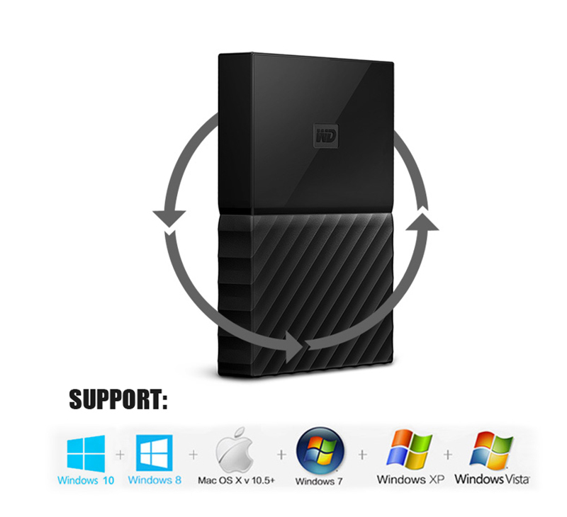 "H-1 2.5/"" 2.5 HDD 500GB 1TB 2TB USB 3.0 Laptop Mobile Hard Drive For Windows Mac"