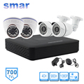 CCTV System 700TVL 4CH AHDL(960H) DVR Kit Security Camera System Infrared Indoor Outdoor Camera Hybrid DVR Onvif P2P Cloud