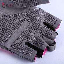 New style Hot Women Sports Gym Glove Fitness Training Exercise Body Building Workout Weight Lifting Gloves Half Finger glove 007