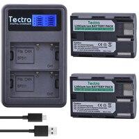 Tectra 2ピースbp-511a bp 511リチウムイオンバッテリー+液晶usbデュアル充電器キヤノンg6 g5 g3 g2 g1 eos 300d 50d 40d 30d 20d 5d