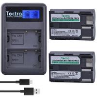 Tectra 2PCS BP 511 BP 511A BP 511 Li ion Battery +LCD USB Dual Charger for Canon G6 G5 G3 G2 G1 EOS 300D 50D 40D 30D 20D 5D