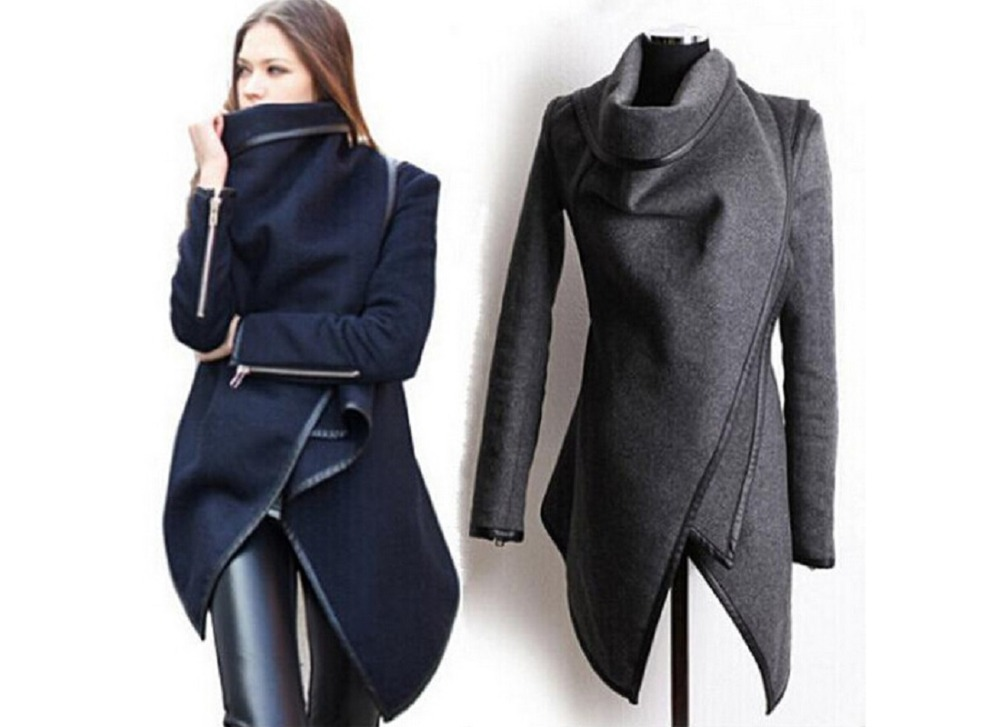 Autumn and Winter Coat Women Long Cashmere Overcoats Desigual Woman Trench Wool Coats Fur Manteau Abrigos Mujer Plus Size in Hoodies amp Sweatshirts from Women 39 s Clothing
