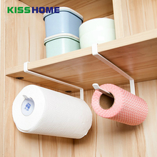 Kitchen Paper Hanger Sink Roll Towel Holder Organizer Rack Space Save Bathroom Shelf Hanging Door Hook