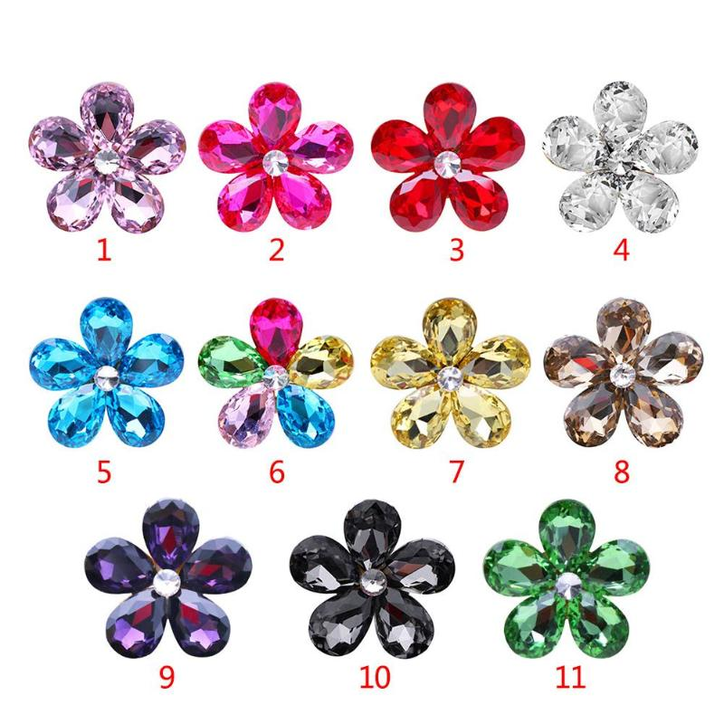 HTB19qUWur1YBuNjSszeq6yblFXaz VODOOL Car Interior Accessories Automobile Air Conditioner Outlet Crystal Flower Decor Car Ornaments Vent Perfume Decoration