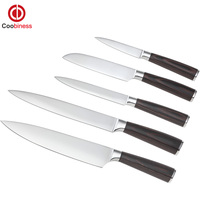 Professional Kitchen Knives 3 5 Inch Paring 5 Inch Utility Japanese Cook S Knife 8 Inch