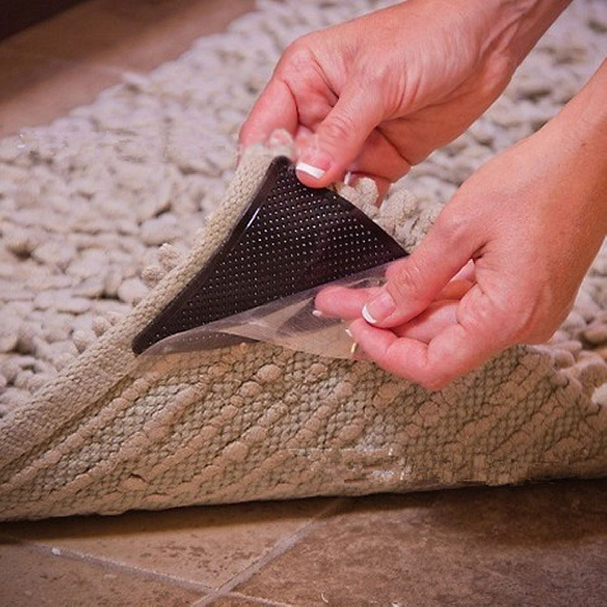 Captivating ... Non Slip Safety Rug To Carpet Gripper Pad Vidalondon ...