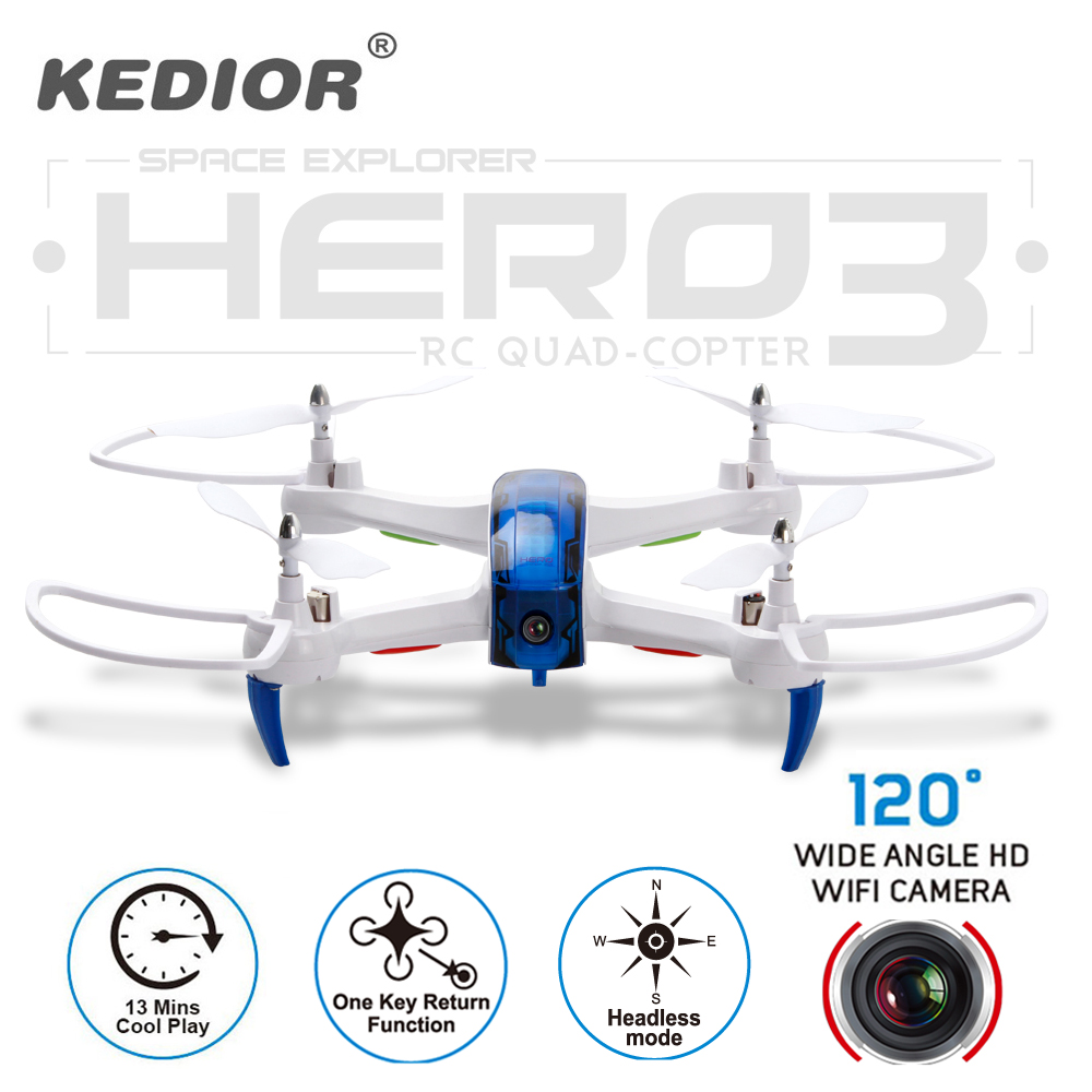 2017 New Hero3 Rc Drone with WiFi Camera HD 720P Real-time Transmission FPV Quadcopter 2.4G 4CH RC Helicopter Dron Quadrocopter syma x5sw fpv dron 2 4g 6 axisdrones quadcopter drone with camera wifi real time video remote control rc helicopter quadrocopter