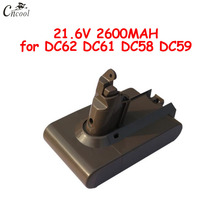 21.6V 2200mAh Replacement Battery for Dyson Li-ion Vacuum Cleaner DC58 DC61 DC62 DC59