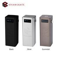 100% Original Steam Crave Titan PWM VV Box MOD Max 300W Huge Power Fit with Aromamizer Titan RDTA No 18650 Battery E cigs Mod