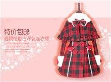 Lolita Invierno Abrigo de Lana Para Mujer Chaqueta XS-XL Rojo Clásico de Navidad Por Encargo Cosplay Traje NUEVO