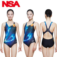 2016 New Style Women One Piece Swimsuit High quality Professional Training Swimwear For Pool Bathing Suit