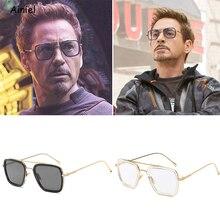 Фильм Человек-паук вдали от дома для косплея Железного человека солнцезащитные очки Тони Старк очки Питер Паркер косплей Паук Эдит солнцезащитные очки человек