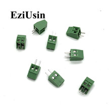 50pcs KF128 2.54mm PCB Screw Terminal Block KF128-2.54 2P 3P 4P 5P 6P 7P 8P 9P 10P Splice Terminal KF120-2.54 DG308-2.54mm цена