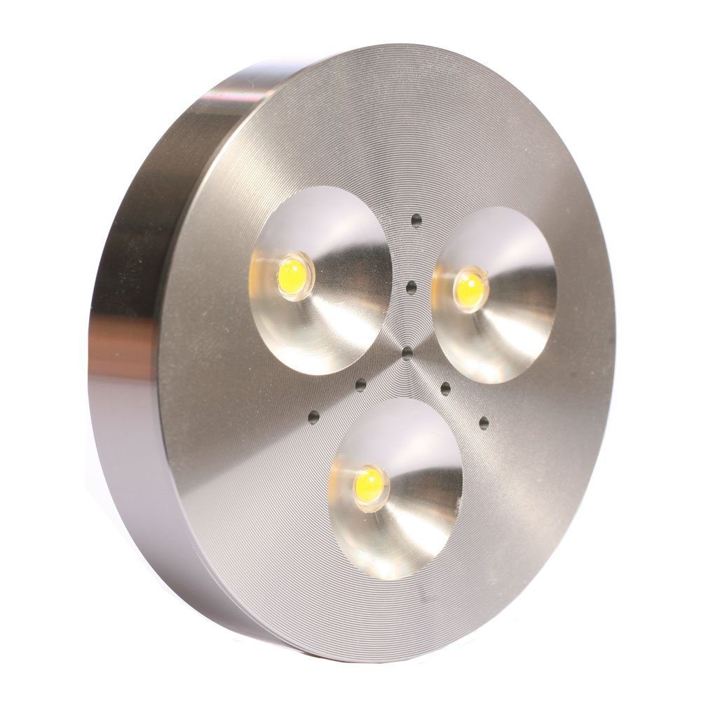 wire foot dc light puck lights product watt white volt with single led american lighting lead wh