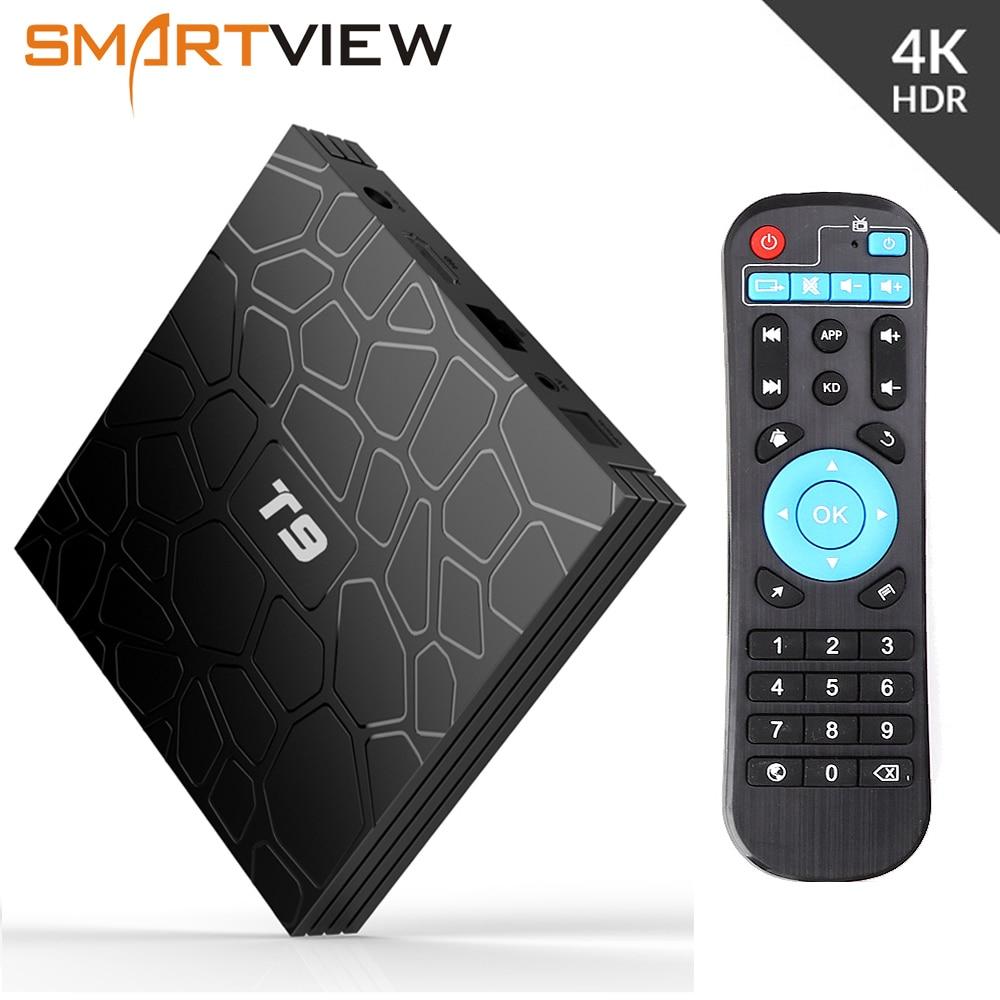 Android 8.1 Smart TV Box VONTAR T9 4 GB RAM 32 GB/64 GB ROM Rockchip RK3328 H.265 4 K optional 2,4G/5 Ghz Dual WIFI TVbox pk Mi S X96
