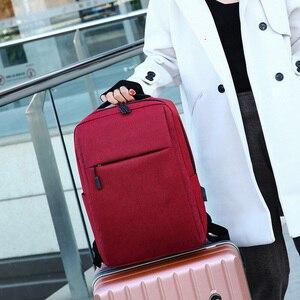 Image 4 - UPSC USB ชาร์จกระเป๋าเป้สะพายหลังป้องกันการโจรกรรมชายกลับแพ็ค 2019 กระเป๋าเดินทางสำหรับแล็ปท็อปขนาด 16 นิ้วกระเป๋าเป้สะพายหลัง Daypacks กระเป๋าถือชาย mochila