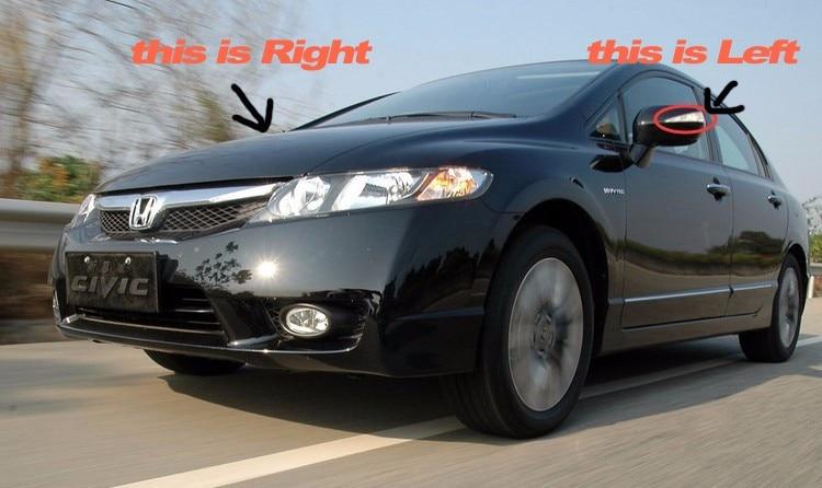1 copë LED drita pasqyre e dritës së pasme të dritës LED - Dritat e makinave - Foto 2
