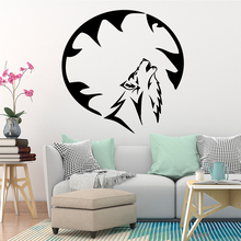 NEW Wolf Decorative Sticker Waterproof Home Decor For Kids Rooms Wall Art Decal Decorative Vinyl Wall Stickers funny memoriable day wall art decal wall sticker mural for kids rooms home decor decorative vinyl wall stickers