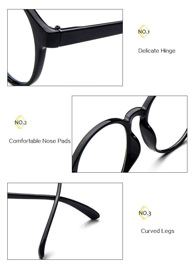 UVLAIK Mode Optische Gläser Rahmen Gläser Mit Klarglas Marke Männer ...