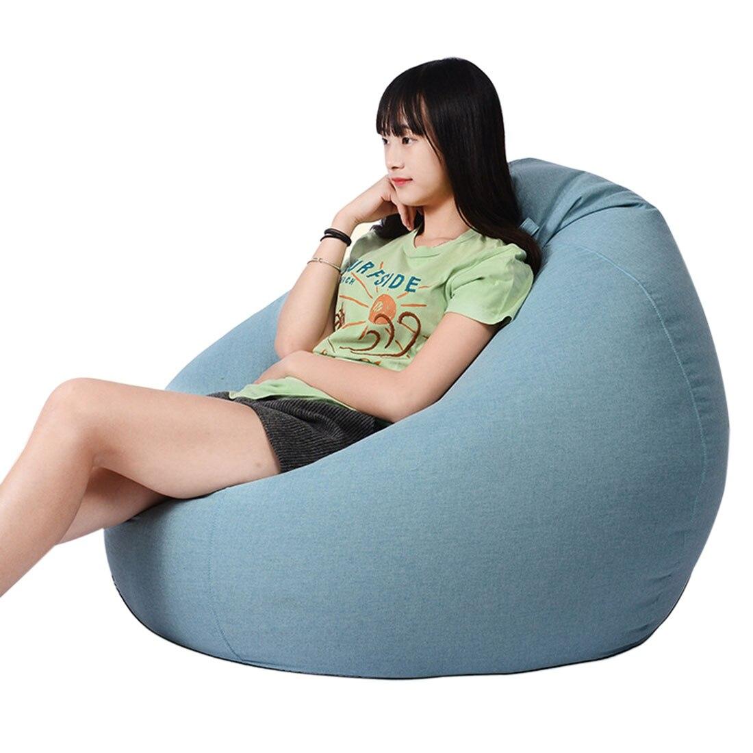 Terrific Volwassenen Kinderen Bean Bag Stoel Sofa Woonkamer Lounger Creativecarmelina Interior Chair Design Creativecarmelinacom