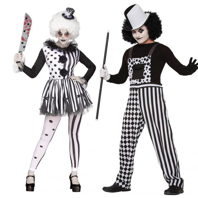 Tute Pagliaccio Coppia Vestiti Costumi Prestazione Di Adulti tqOOFzAv