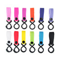 New Baby Stroller Hook Nylon Magic Stick Hooks Strap Baby Stroller accessories Hook Hanger Baby Carriage 17 Colors Hot Sale