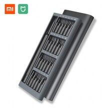 Original Xiaomi Mijia Wiha Täglichen Gebrauch Schraubendreher Kit 24 Präzision Magnetische Bits Alluminum Box Wiha DIY Schraubendreher Set