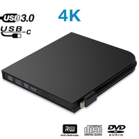 Maikou USB3.0 Blu Ray Type C DVD RW VCD CD RW Burner Drive Super drive External DVD Drive Burner Player For Asus lenovo Ace