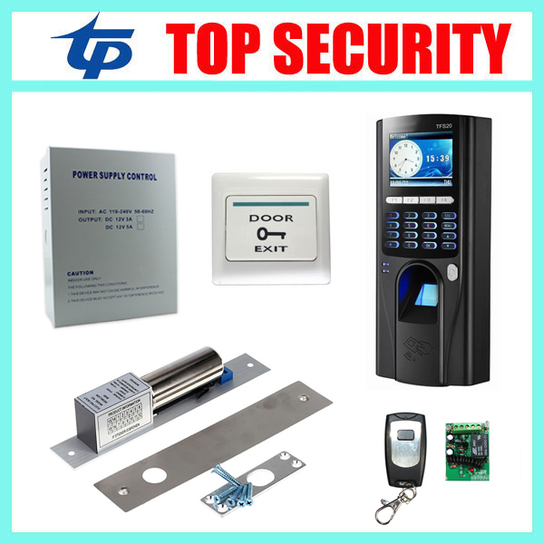 Good quality TFT color screen cheap price fingerprint and RFID card time attendance and access control system biometric reader outdoor use waterproof tcp ip color screen fingerprint and 125khz rfid smart card time attendance and access control system