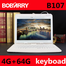 BOBARRY B107 10.1 inch Octa Core 3G phone tablet MTK8752 Android 6.0 4GB+64G ROM+keyboard Dual SIM Bluetooth GPS 3G Tablet PC