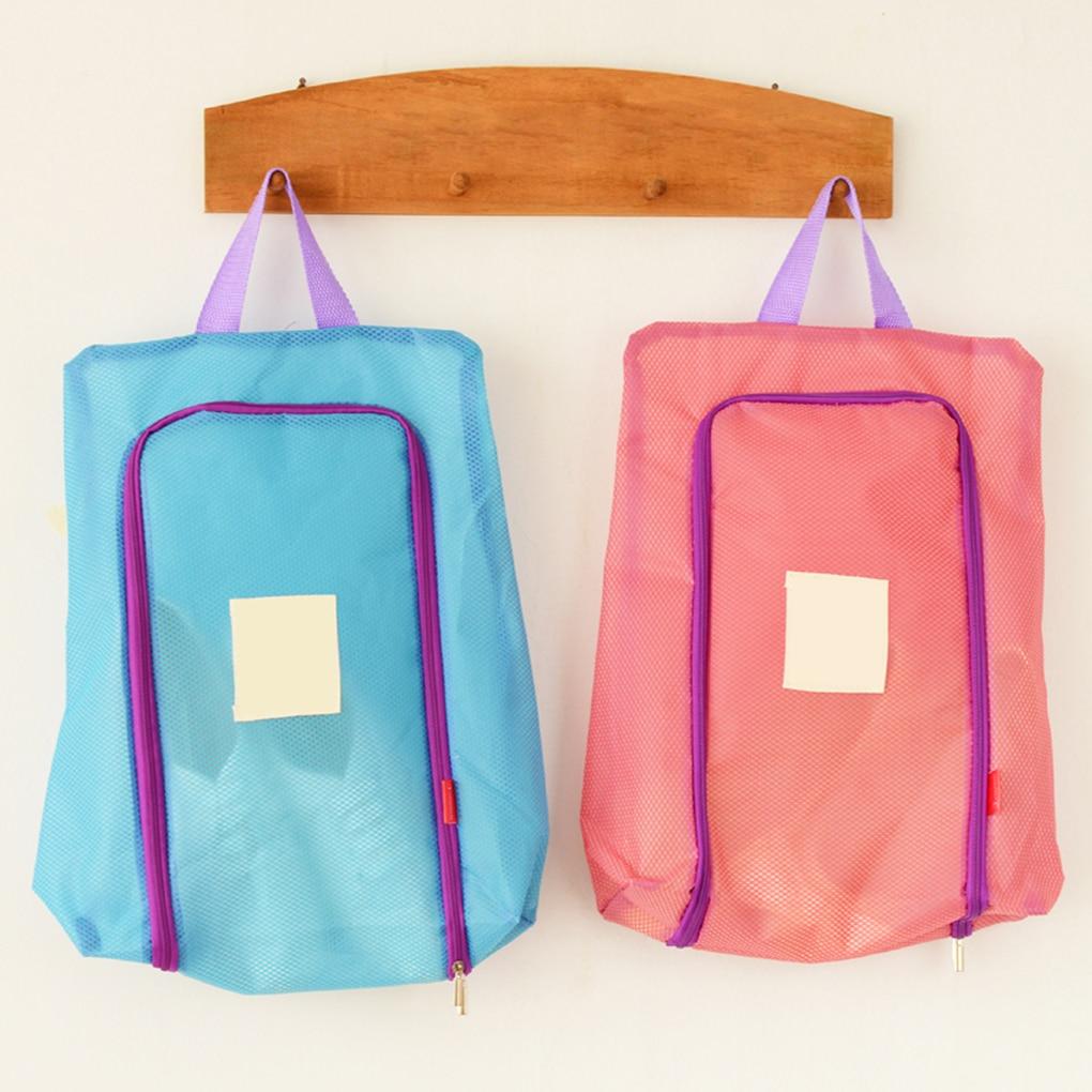Waterproof Shoe Bag Travel Organizer Tote Toiletries Zip Lock Plastic Bags Packaging Luggage Organizer Pouch Storage Case Shoe Bags