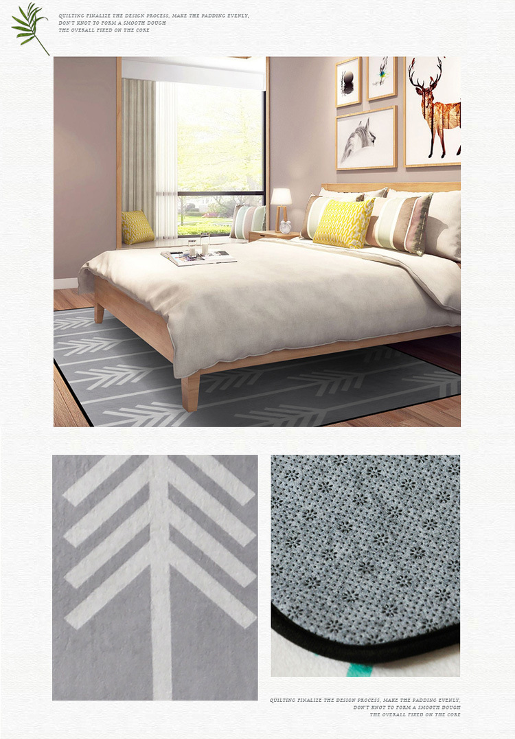 Fashion For Home Couchtisch Gray Geometric Arrow Carpets For Kids Living Room Home Bedroom Carpets And Rug Multi Size Floor Mat Coffee Table Big Area Rugs
