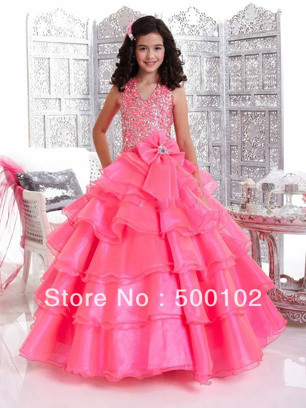 Pink Party Dresses For Girls - Ocodea.com