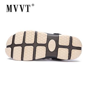 2019 New Summer Jelly Shoes Men Beach Sandals Hollow Slippers Men Flip Flops Light Sandalias Outdoor Summer Chanclas 1