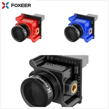 цены Foxeer Monster Micro Pro 1.8mm 16:9 1200TVL PAL/NTSC WDR Low Latency FPV Camera Built-in OSD DC 5V-40V Bracket Camera VS Caddx