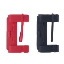 Universal silicone cinto de segurança do carro fivela cobre clipe anti-risco capa botão de segurança automóvel acessórios interiores do carro-estilo