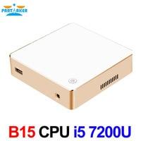 Intel Core i5 7200U Partaker Small Computer 7th Gen Kaby Lake Win10 Mini PC
