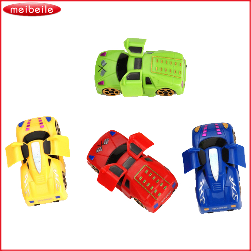 Classic Car Seller Network: 4pcs Chain Wind Up Toy Car Will Rotate Automatically Open