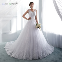 Meeo Novias Wedding Dresses Floor-Length Bride Dress