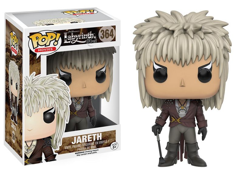 Funko pop Official Movies: Labyrinth - Jareth Vinyl Action Figure Collectible Model Toy with Original Box