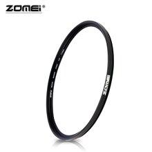 ZOMEI 40.5 49 52 55 58 62 67 72 77 82 86mm filtre UV ultra violet Filtro protecteur dobjectif pour appareil photo reflex numérique